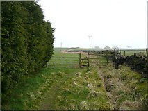 SE0021 : Footpath from Moorland Cottages to New Road by Humphrey Bolton