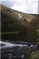 SK1451 : Weir on River Dove by Ian Taylor