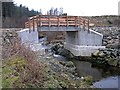 NG6225 : New bridge over Allt an Rubha by Richard Dorrell