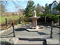 SO0158 : Memorial fountain, Newbridge-on-Wye by John Grayson