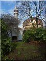 TQ2782 : Greenery and Regent's Park Mosque, Park Road NW1 by Robin Sones