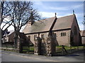 NJ6328 : St Drostan's Episcopal Church, Insch by Stanley Howe