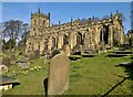SK2692 : St Nicholas church, High Bradfield by Chris Morgan