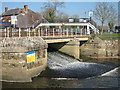 TQ6949 : Twyford weir, River Medway by Oast House Archive