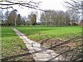 SJ8363 : Public park in West Heath by Richard Dorrell