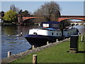 SU9080 : Moorings by Maidenhead Railway Bridge by Colin Smith