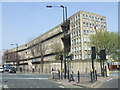 TQ3880 : Robin Hood Gardens estate, Poplar by Malc McDonald