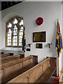 ST5308 : War Memorial, St Mary's Church by Miss Steel