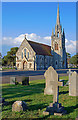 SZ1292 : Bournemouth East cemetery chapel by Mike Searle