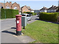SK5635 : Briarfield Avenue postbox (ref. NG11 137) by Alan Murray-Rust