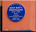Photo of John Monaghan blue plaque