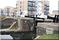 TQ3681 : Regents Canal - Johnson's Lock by Nigel Chadwick