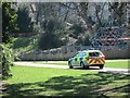 TQ8110 : Police car in Alexandra Park by Oast House Archive