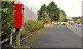 J2863 : Letter box, Lisburn by Albert Bridge