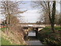 TQ7324 : Road Bridge over River Rother by David Anstiss