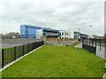 SJ8299 : River View Primary School, Lower Broughton by Alexander P Kapp