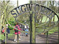 SK2389 : Sugworth Hall entrance by Dave Pickersgill