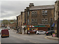 SD7933 : Padiham Post Office, Burnley Road by David Dixon