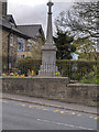 SD7931 : Hapton War Memorial by David Dixon