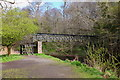 NT2762 : Footbridge over the North Esk by Jim Barton