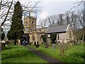 SK2176 : Eyam Parish Church by Graham Hogg