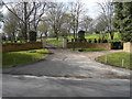 SP0108 : Entrance drive to Hammerton House by Terry Jacombs
