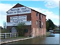SJ3934 : Disused canal warehouse, Ellesmere Basin by David Martin
