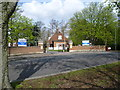 TQ3766 : Entrance to Bethlem Royal Hospital across Monks Orchard Road by Ian Yarham
