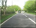 SJ5551 : A49 north at Beeston Lodge by John Firth