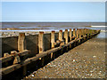 TA2147 : A Hornsea Beach Groyne by Andy Beecroft