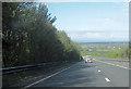 SJ5268 : Kelsall bypass at Hollands Lane overbridge by John Firth