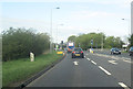 SJ4667 : Junction at Stamford Bridge A51 west by John Firth