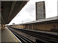 TQ2380 : Latimer Road station, looking southwest by Stephen Craven