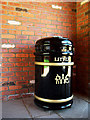 J5080 : Litter bin, Bangor by Rossographer