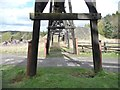 NZ2154 : North of the winding house, Beamish Museum by Christine Johnstone
