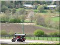 NZ2254 : Steam roller at Beamish Museum by Christine Johnstone