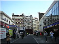 TQ3181 : Cowcross Street: two entrances to Farringdon station by Christopher Hilton