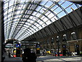 TQ3083 : King's Cross station: western trainshed by Christopher Hilton