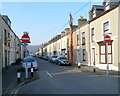 SH5638 : Southern end of Madog Street, Porthmadog by John Grayson