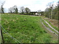 SJ9481 : Triangular field at West Parkgate by Peter Barr