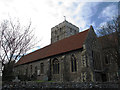 TR3357 : St Clement's church, south aisle by Stephen Craven