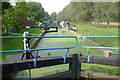 TL7306 : Sandford Mill Lock, Chelmer & Blackwater Navigation by Essex Walks
