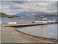 NS3692 : Loch Lomond, Jetty and Ben Lomond by David Dixon
