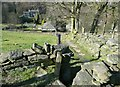 SE0321 : Stile on Ripponden Footpath 55, Soyland by Humphrey Bolton