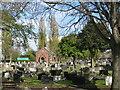 SJ3877 : Overpool Cemetery by Sue Adair