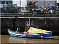NU2604 : 'Glad Tidings', Amble Harbour by Andrew Curtis