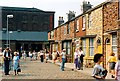 SJ8397 : Coronation Street in Granada Studios (1990) by Graham Hogg