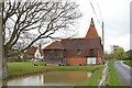 TQ8041 : Oast house on Mill Lane by Julian P Guffogg