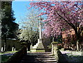 SK3871 : Chesterfield churchyard in the spring by Andrew Hill