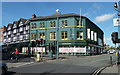 SK3871 : Holywell Street junction with Stephenson Place, Chesterfield by Andrew Hill